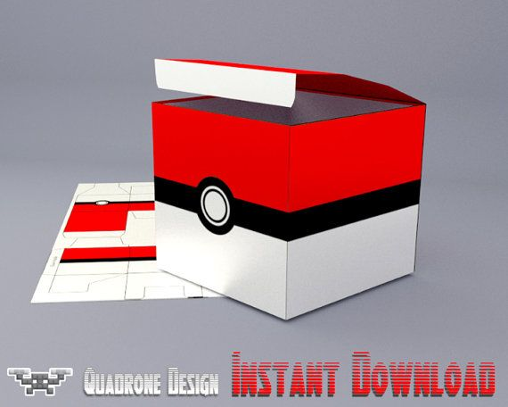 Más Recetas en https://lomejordelaweb.es/ | Pokemon Party Favor Box, Pokebox, Pokeball, Pokemon Birthday, DIY Party Favors