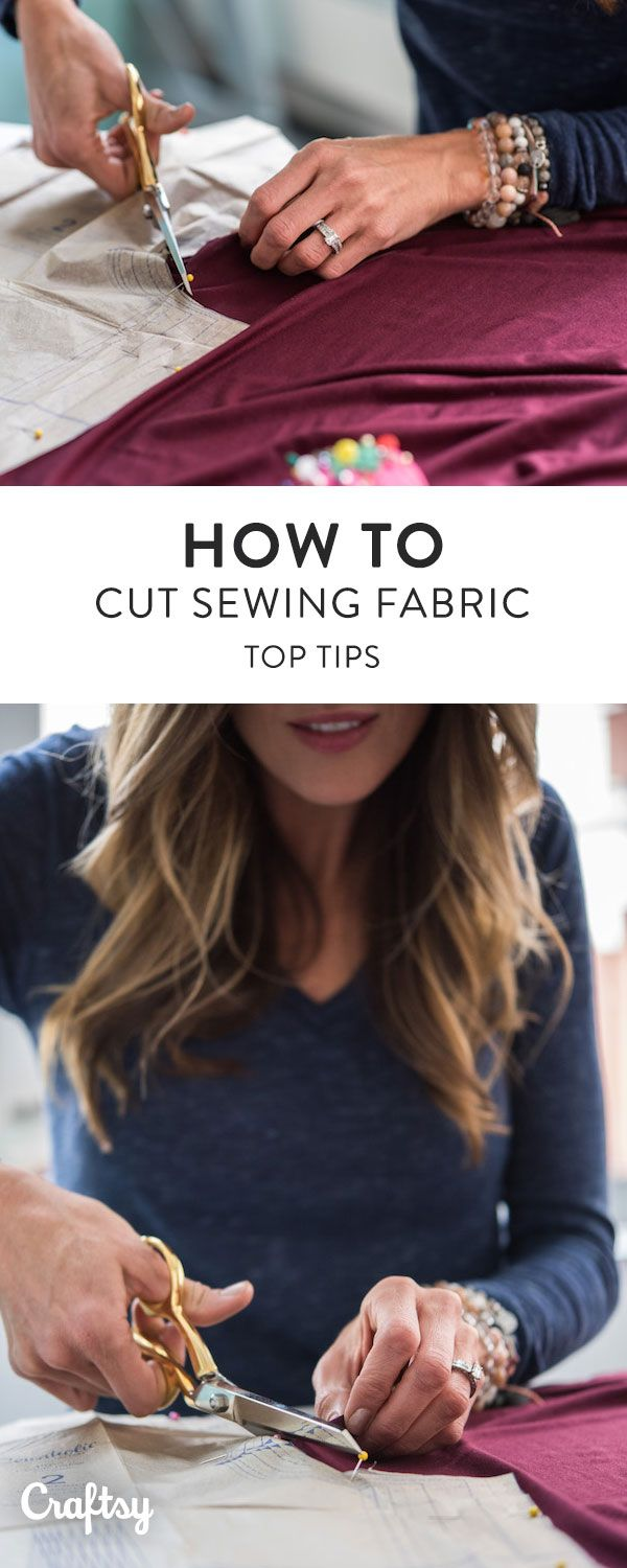 Properly prepping and cutting your fabric is the first step for sewing garments that wear well. Cutting your pattern out accurately, and on the straight of grain, is essential for seams that go together with ease, and continue to hang well with wear. Learn how to expertly cut fabric with these top sewing secrets!