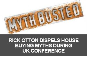 Rick Otton has announced his intention to use his 3-day property investment conference to dispel many of the myths that surround buying and selling real estate in the UK. The first one, he says, will be that banks need to be involved.