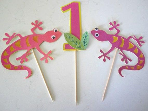 Party Decoration Ideas Birthday Decorations Parties Kid Birthdays Card Stock Lizards Banners Carton Box Posters