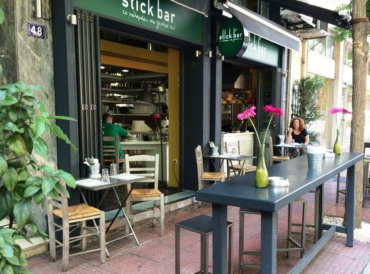 Stick Bar Kolonaki, Athens, Patriarchou Ioakeim 48, Greek food restaurant