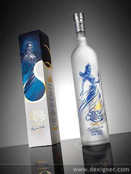 Snow Queen Vodka - Kazakhstan