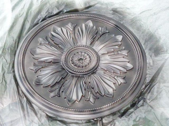 Ceiling Medallion as Art