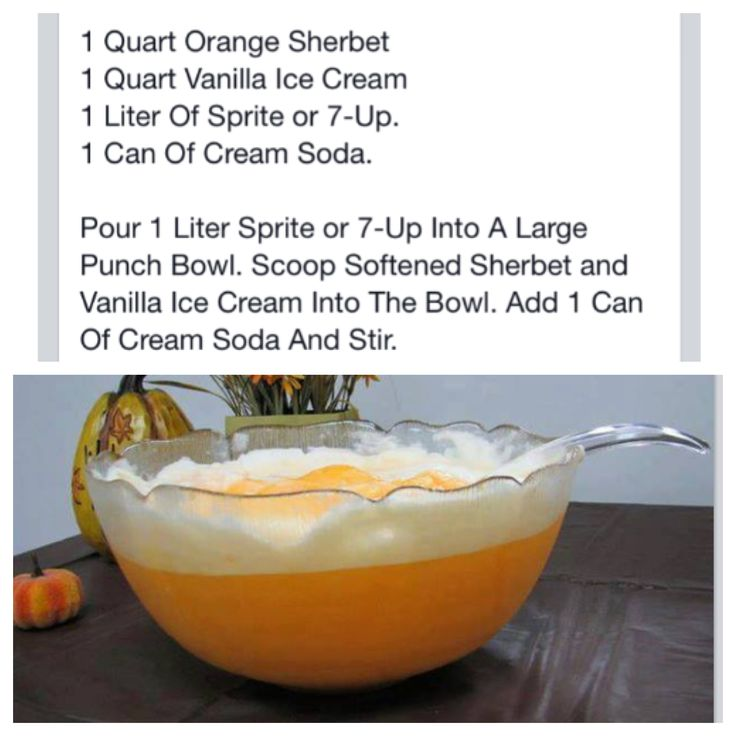 Dreamsicle Orange Punch