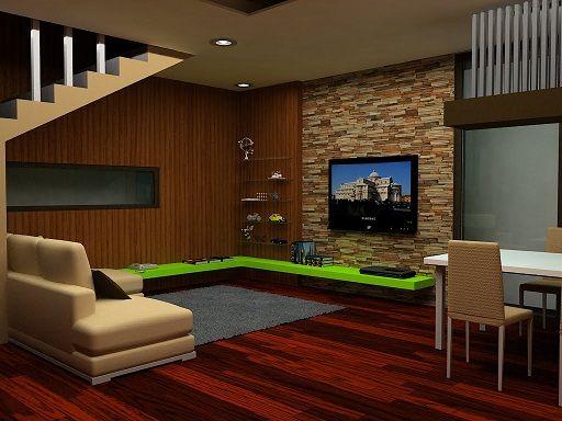 Aplikasi batu Alam untuk Ruang Keluarga