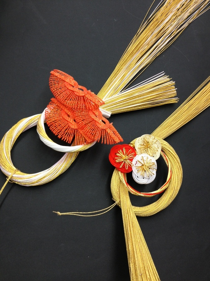 Japanese traditional craft MIZUHIKI✿水引New year decoration by Hiromi Nagasawa, via 500px