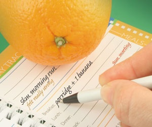 Take Good Notes: Training logs help you stay fit, focused and motivated.