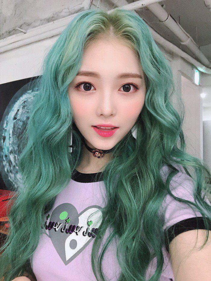 Green Hair Green Hair Hair Looks Hair