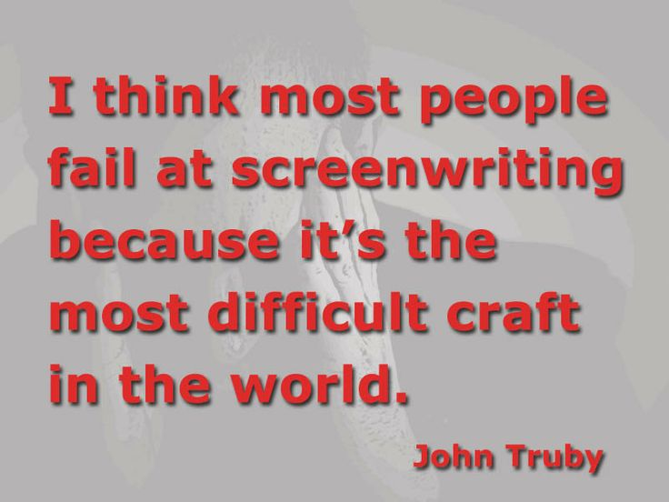 When the Page was Blank: Screenwriting Advice from the Pros