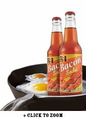 "Bacon Soda / ok....so not really sure if this should fall under ""cool"" or ""not-so-cool"" -- but i wouldn't mind trying some!"