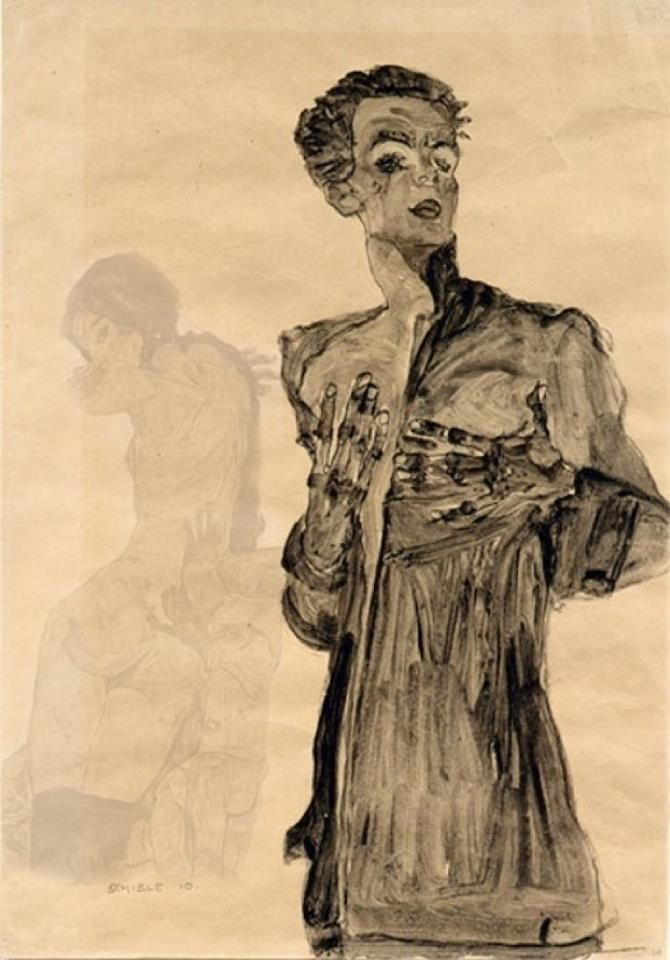 essay on egon schiele Why egon schiele is one of art's greatest provocateurs  details, essays from art  historians, and archival excerpts from schiele's own writing.