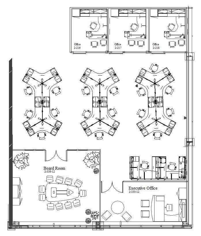 120 degree office desk dimensions - Google Search