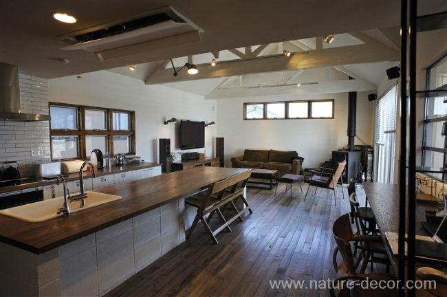 「TRUCK」の似合う部屋 キッチン