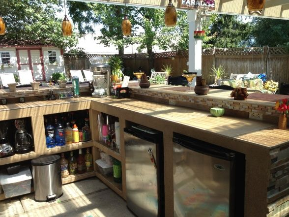 413 Best Outdoor Bar U0026 Grill Images On Pinterest | Outdoor Bars, Outdoor  Ideas And Backyard Ideas