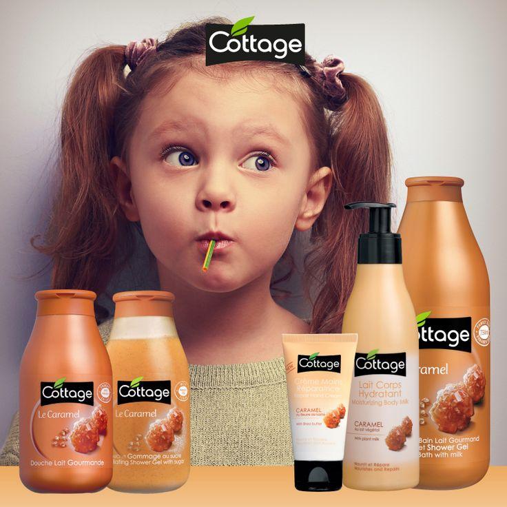 Plongez au coeur de votre enfance grâce à la gamme 100% gourmande au caramel. Cette senteur sucrée fera de votre douche un pur moment de détente !