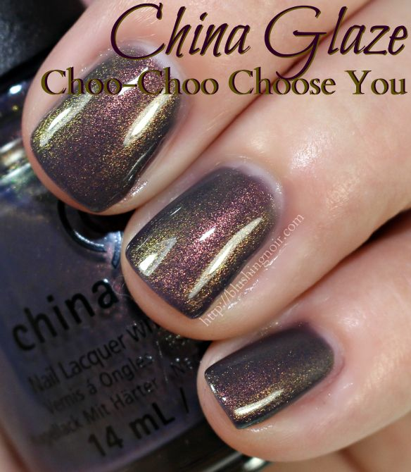 China Glaze Choo-Choo Choose You Nail Polish! Favorite Lips & Tips for Fall