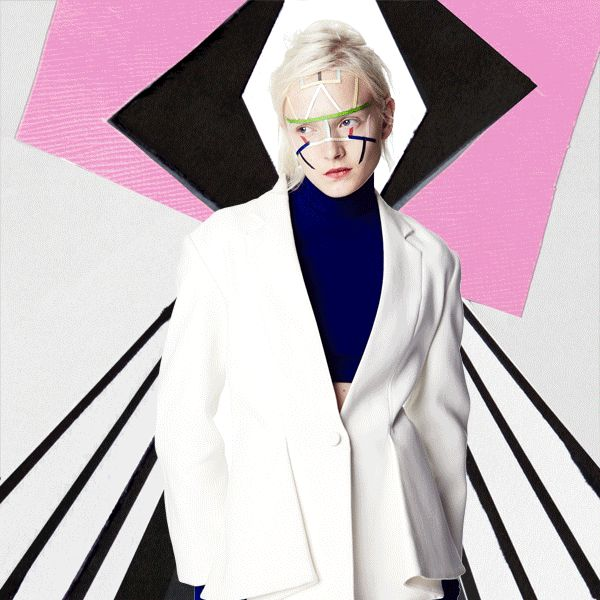 series of GIFs by Quentin Jones and AnOther's fashion editor Agata Belcen Click…