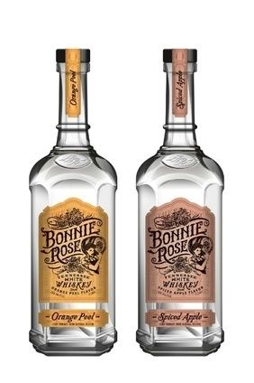 Bacardis Bonnie Rose Orange Peel and Spiced Apple