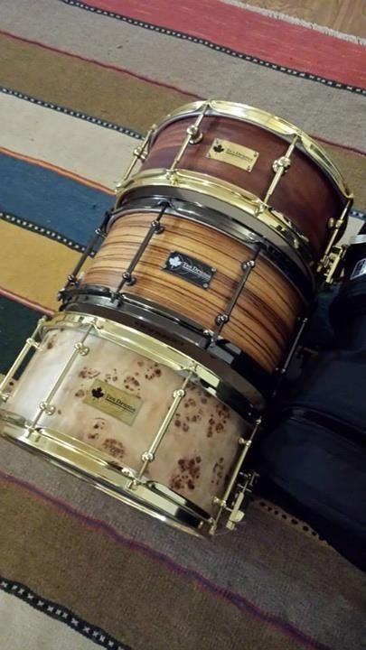 Tea Drums - snare drums. Pinned via drummer boy blue ...