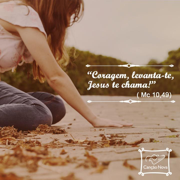 O Senhor é contigo! #Coragem