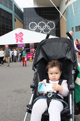 Keila Every Day: Picking Up Dad's 2012 Olympic Football TicketDads 2012, 2012 Olympics, Olympics Football, Football Ticket