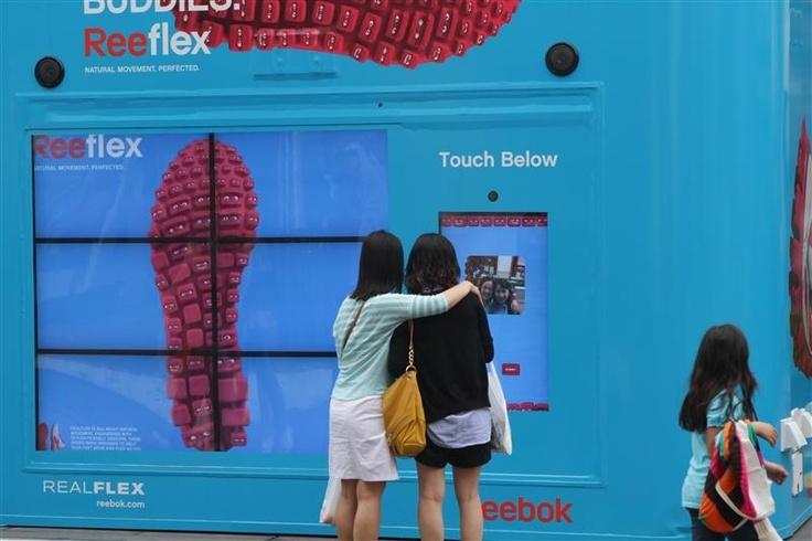 #Reebok #Realflex - 2011 #OOH #Media #Plan #Award of the year #Apparel