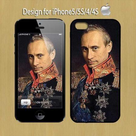 Картины маслом Путин доминирующей iPhone6 телефон iPhone5S5C мобильные телефоны скрабы чехол силиконовый чехол  — 506.01 руб. —