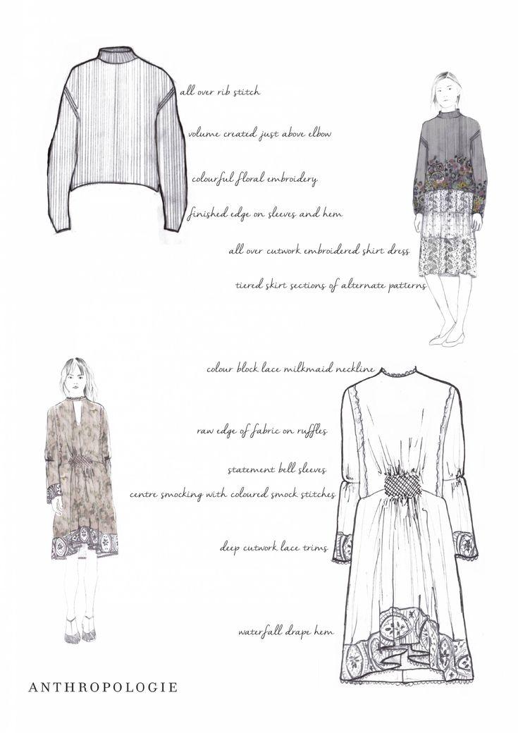 Fashion Portfolio - fashion illustrations; fashion design sketchbook // Emma Elise Morgan