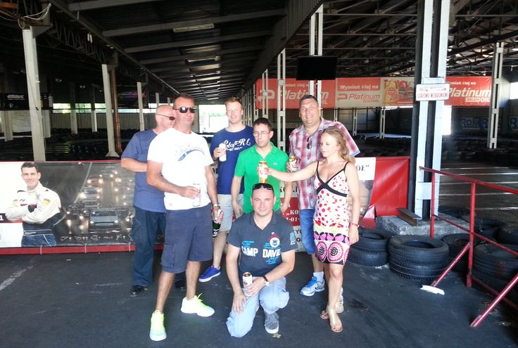 Gokarting in Krakow  - a great stag activity