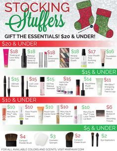 Looking for cute, affordable products that will fit together in a Christmas stocking? QT Office® has created a Mary Kay® Stocking Stuffers flyer to show which products will be great for stocking gift ideas under $20!
