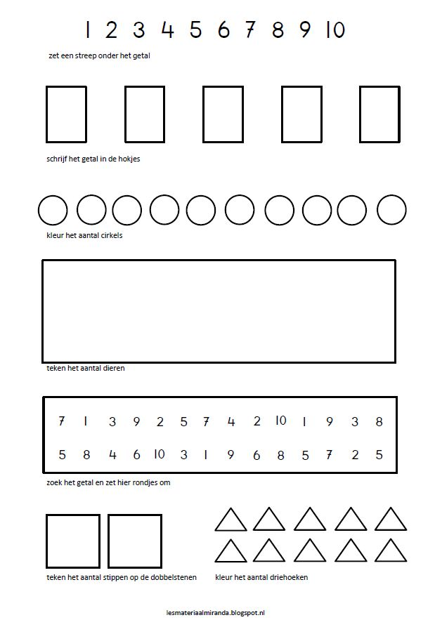 aanvulling voor wisbordjes: verhoudingstabellen, plattegronden voor blokjes en cijfer/aantallen