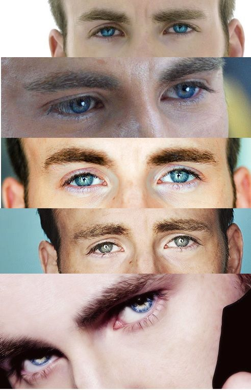 Sexy eye appreciation post Day 1: Chris Evans
