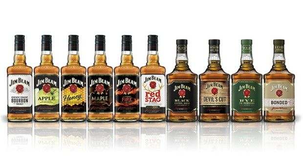Jim Beam Global rebrand (2016)