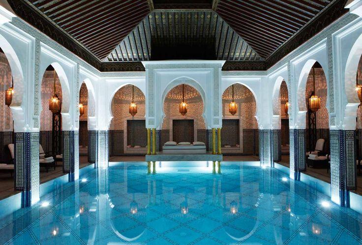 the spa at la mamounia, marrakech
