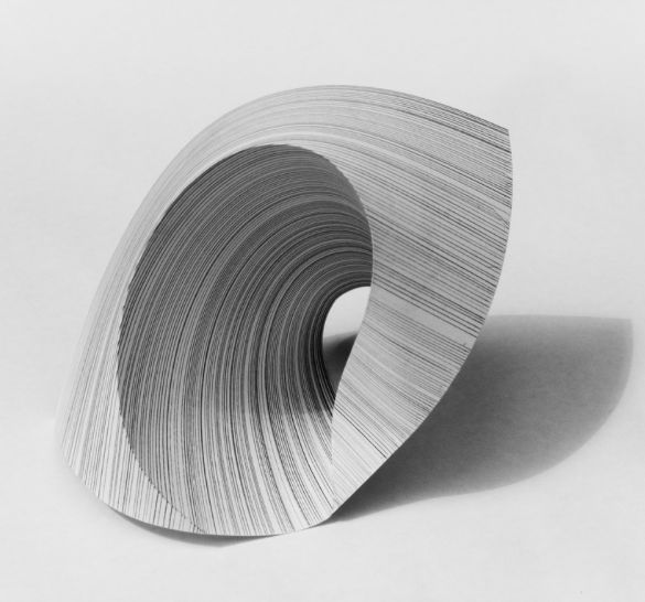 The smooth texture of this makes the paper sculpture even more amazing and refined.