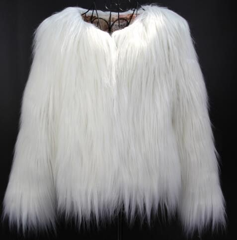 17 Best ideas about Cream Fur Coat on Pinterest | White faux fur ...