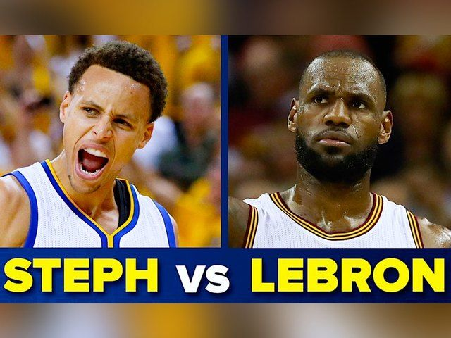 Tonight is game three of the NBA Finals. It's all up to Stephen Curry and LeBron James. Who will be victorious? We'll have to watch to find out. To celebrate these champs, today on the Buzz List Kristina Guerrero and Jared Cotter are taking a look at who has the best moves off the court.