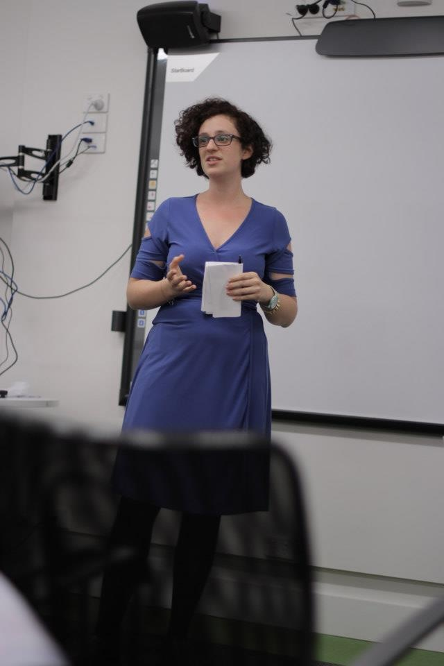 Jessica Bellamy talks filmmaking at our launch