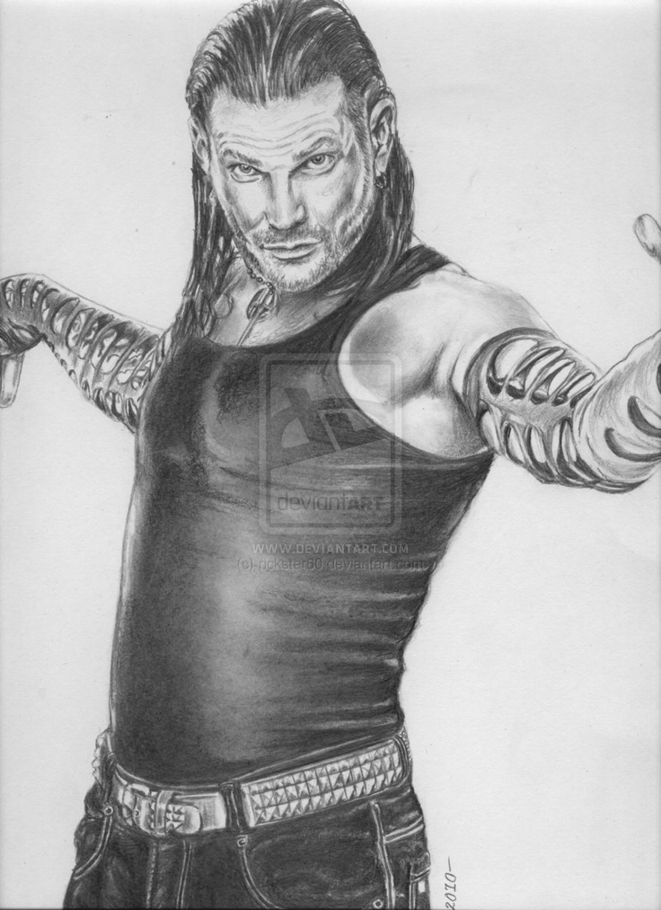 wwe jeff hardy by rickster60.deviantart.com on @deviantART