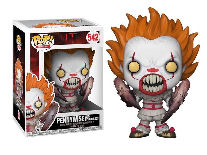 Movies Vinyl Figure Stephen King/'s IT POP Pennywise