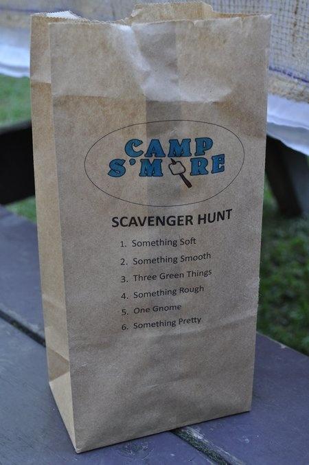 My Pins Blog - Camp Smore Camping Themed Birthday Party