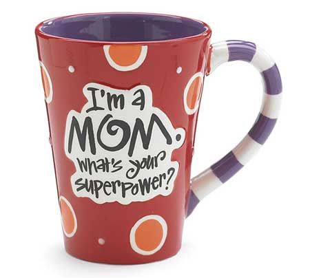 Mom Superpower Coffee Mug for Mother's | BuyGifts.com