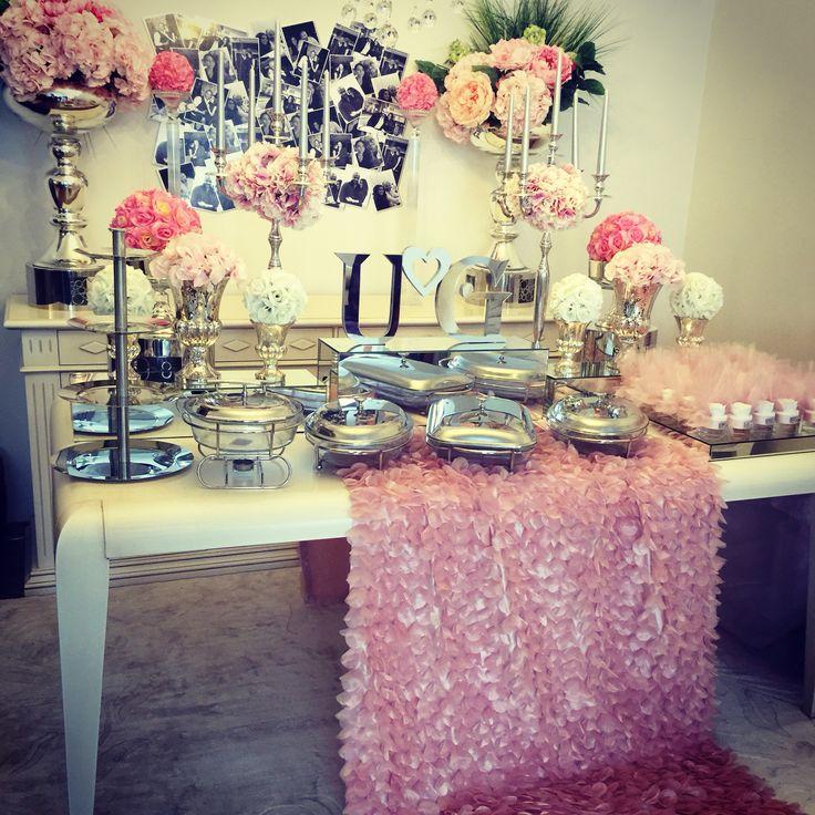 Candy corner, candy buffet, candy bar,pink candy bar
