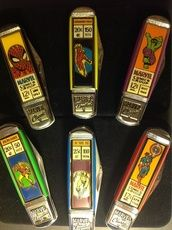 Marvel Classics Franklin Mint collector knife set @ tradewindscollectibles.com