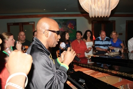 """Sing along with the """"Ultimate Chocolate"""" at the #pianobar at Couples Swept Away"""