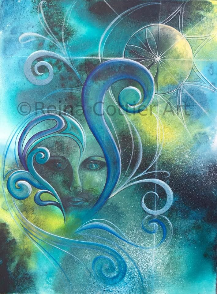 Original Painting by Reina Cottier https://www.facebook.com/reinacottierart/photos/a.580239635356001.1073741826.241982692515032/873446696035292/?type=1