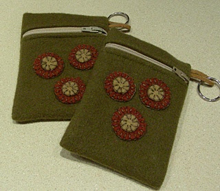 Tutorial For Recycling Wool Into Penny Rugs Penny Purses