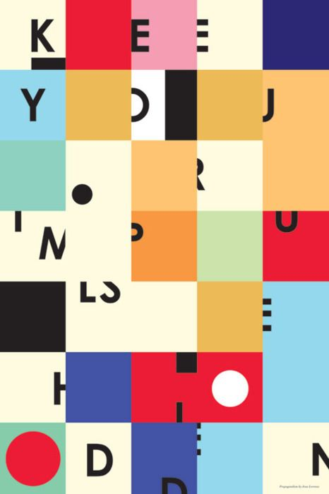 """Keep your impulse hidden (via """"Keep your impulse hidden"""" - A Giclée Print by Jean Lorenzo)"""