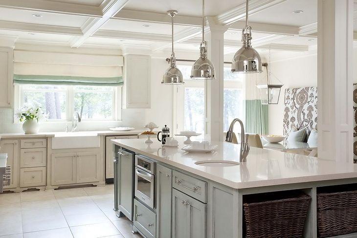 greige kitchen