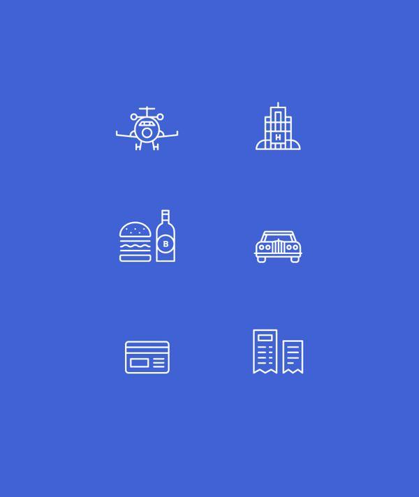 Sillk Icon set by Rafa Goicoechea, via Behance